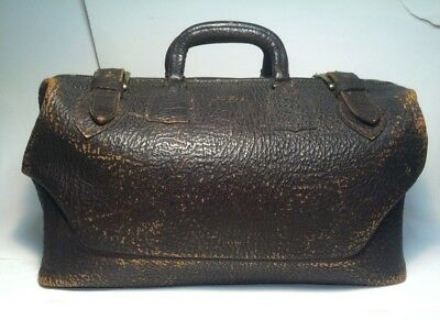 authentic vintage Doctors Bag genuine top grain cowhide