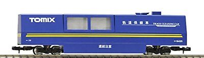 TOMIX N Scale Multi Rail Cleaning Car Blue 6425 Train Model Supplies F/S wTrack#