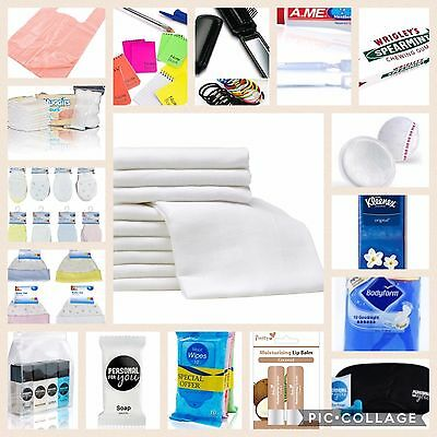 Luxury UNISEX hospital/maternity bag contents for Mum & Baby - 27 ITEMS included