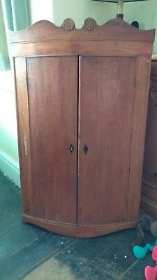 Georgian corner cupboard REDUCED for quick sale!!! Further reduced!