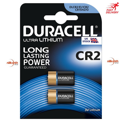 Duracell Ultra CR2 Lithium Batteries   2 Pack