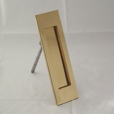Brass Vertical Letterbox