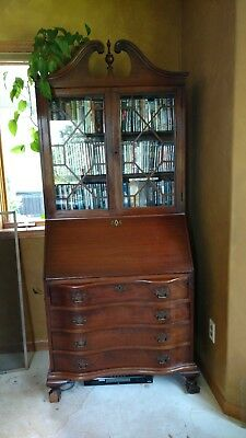 Antique Desk /  Secretary /Cabinet (1900 - 1950?).