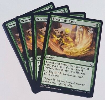 MTG - Hour of Devastation (HOU) - Choose Your Playset (x4 cards) - Green Common