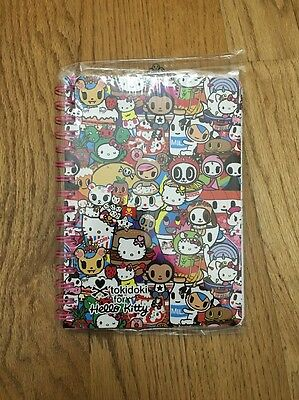 Tokidoki For Hello Kitty Buffet: Popcorn Kitty Spiral Notebook (TC3)