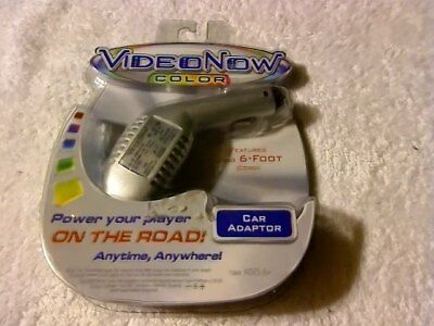 Rare 2004 Hasbro, Inc. Hasbro  Videonow Now Color 6-Foot Car Adapter New Sealed