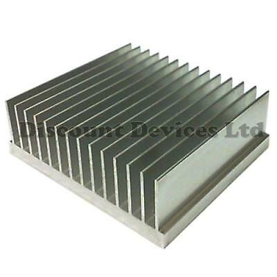 Large Aluminium Heat Sink Power Amplifier/Supply/ Transistor/IC/FET/PA (62026)