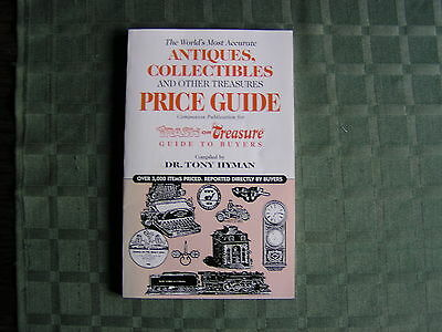 ANTIQUES COLLECTIBLES & OTHER TREASURES PRICE GUIDE Tony Hyman 94pgs.NEW