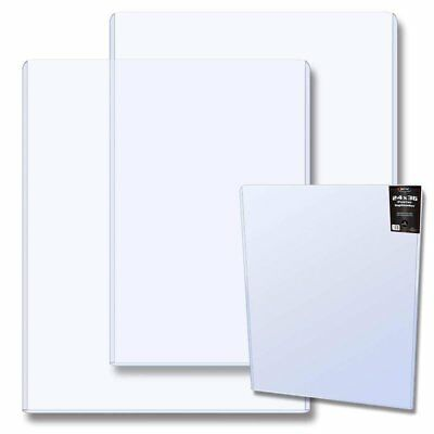Case of 10 BCW 24 x 36 Poster or Print Topload Holders - Top Loaders Holders