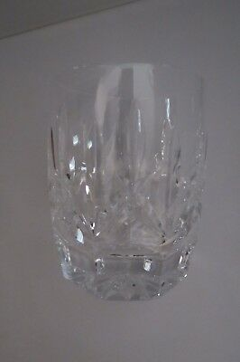 Waterford Lismore Double-Old Fashioned Crystal Glass – Excellent