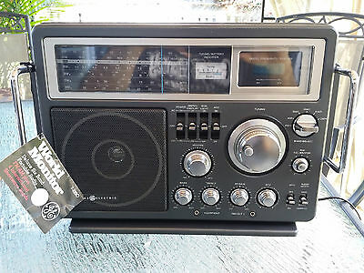 General Electric shortwave radio in great shape with original tag + SSB receive