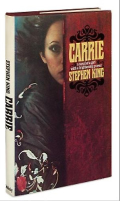 Carrie by Stephen King OUT OF PRINT ** HARDCOVER ** LIKE NEW **