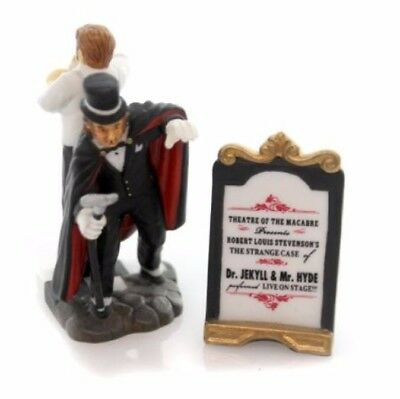 Department 56 Dickens Village The Strange Case of Dr Jekyl; & MR HYDE NEW IN BOX