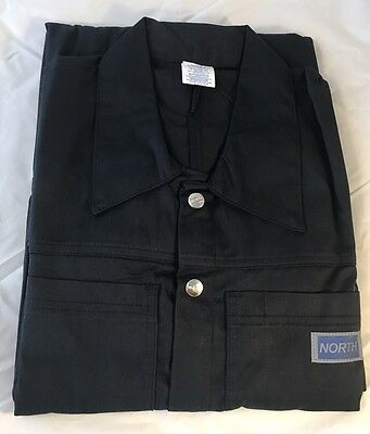 NORTH COVERALLS By HONEYWELL NAVY BLUE SIZE 38 COVERALLS GENERAL USE