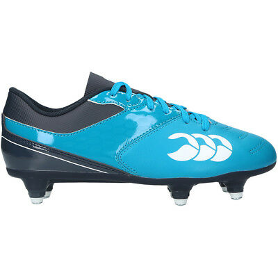 Canterbury Clothing Boys Phoenix 2.0 CCC Logoed Durable Rugby Boots