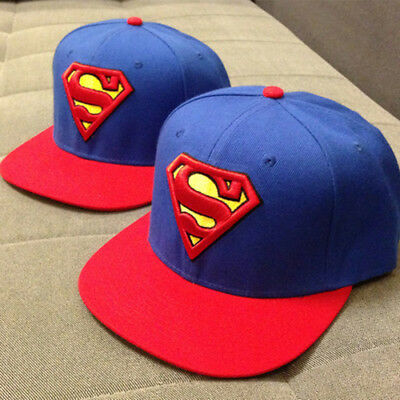NEW Comics Baseball Adjustable Batman Superman Snapback Hat Cap HipHop Unisex