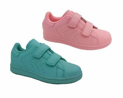 Girls Shoes Grosby Courtney Casual Fashion Sneaker Hook and Loop Sizes 10-4 New