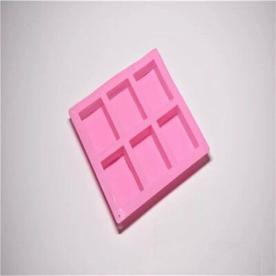 Silicone Cube Candy Chocolate Cake Cookie Cupcake Soap Molds Mould DIY CU