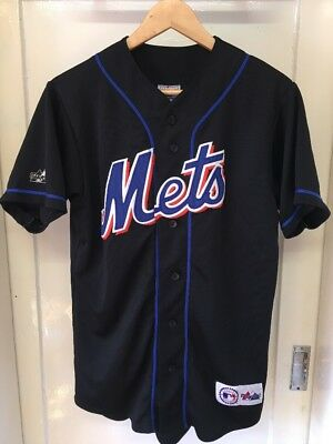 Vintage Majestic MLB Mets Jersey - Men's Size Medium - Rare - Martinez #45