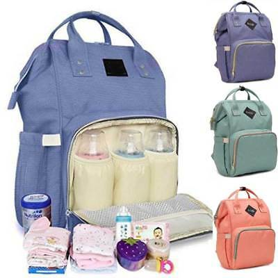 Mummy Maternity Nappy Diaper Bag Large Capacity Baby Travel Backpack Waterproof