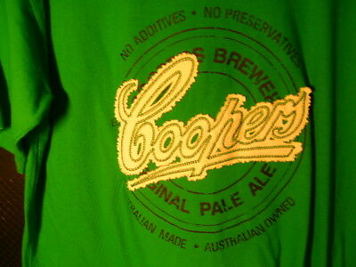 Coopers Pale Ale T-Shirt 2Xl & Coopers Beer Glass & Beer Runner