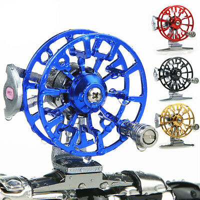 IT- Full Metal Alloy 60 Type Fly Ice Fishing Reel Former Wheel Right Handed Reli