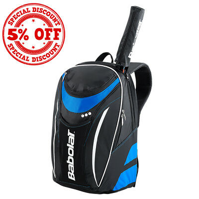 BABOLAT Club Line Cart Backpack Blue/Black Racket Holder
