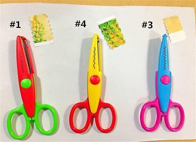 1x ABS patterns Creative Works pictures Paper photos Edgers Craft Scissors P6