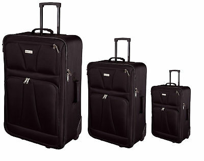 Compass JSA 85701 Reisetrolley Set Reisekoffer Kofferset Trolley 3er Set
