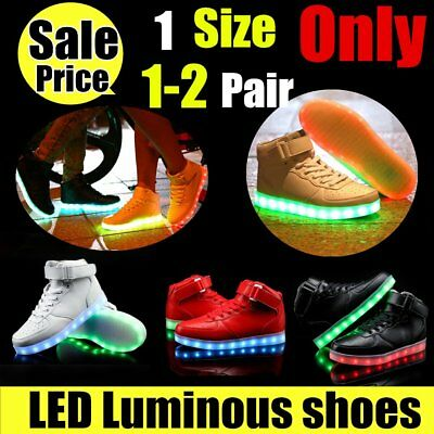 Fashion Led Luminous Sneakers USB Charging LED Light Shoes Popular Cool Shoes G2