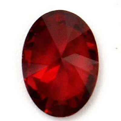 1pc Beautiful Oval Shape Cut Red Ruby Mozambique Loose Gemstone Stone 7x5mm