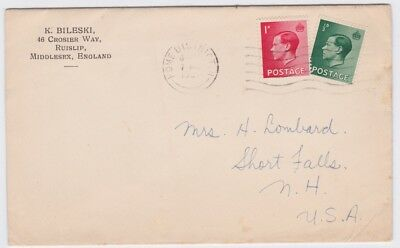 Great Britain-1936 KEVII Home District North special delivery postmark cover