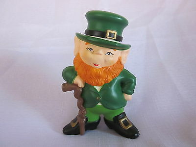 Enesco Leprechaun Plastic Coin Bank