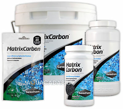 Seachem Matrix Carbon Filter Media Chemical Mechanical Aquarium Fish Tank