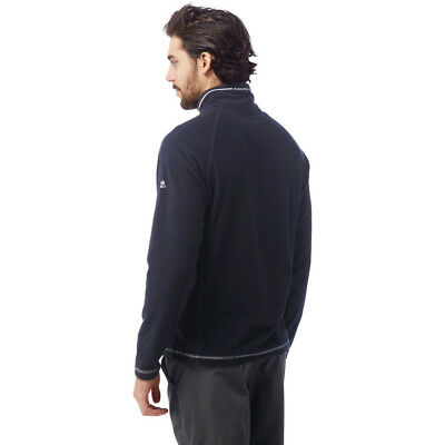 Craghoppers Mens Union Half Zip Lightweight Microfleece Midlayer Top