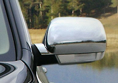 Chrome Wing Mirror Trim Set Covers To Fit Volkswagen Touareg (2003-06)