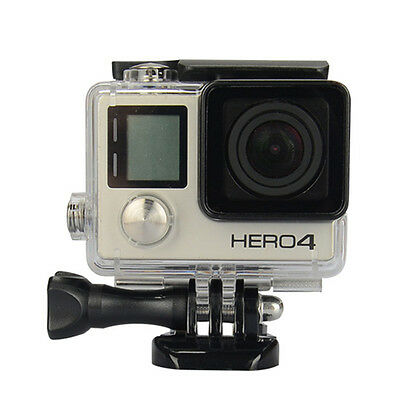 Pro Outdoor Waterproof Protective Case Shell for Go Pro Hero 3 /4 Anti-Fog AB