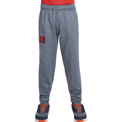 Canterbury Boys Tapered Cuffed Poly Knit Fleece Pants Trousers