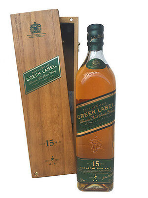 JOHNNIE WALKER OLD GREEN LABEL 15 YEARS WHISKY (RARE BOXED) · (700ml, 43%)