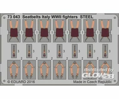 Eduard Accessories 73043 Seatbelts Italy WWII fighters STEEL in 1:72