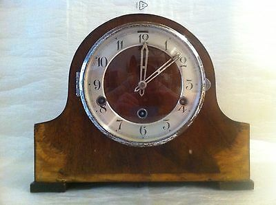 Antique Clock.Mantel. Chime. 1930's. In Great Condition.