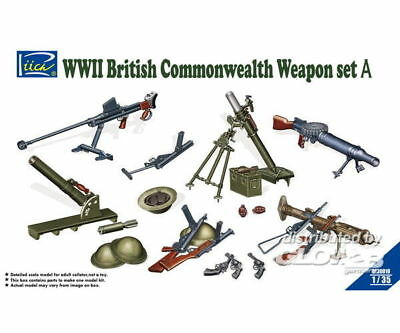 Riich Models RE30010 WWII British Commenwealth Weapon Set A in 1:35