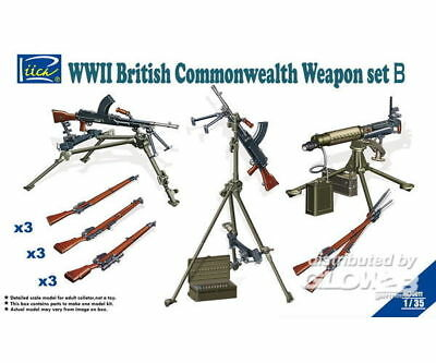 Riich Models RE30011 WWII British Commenwealth Weapon Set B in 1:35