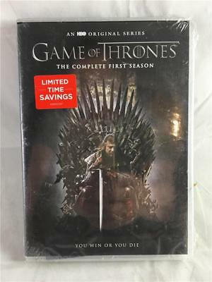 NEW Game of Thrones: The Complete First Season (DVD, 2015, 5-Disc Set)