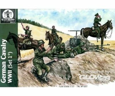 WATERLOO 1815 AP025 Wehrmacht amp; Waffen Cavalary WWII, 1st v. in 1:72