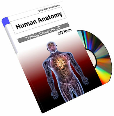 Human Anatomy Atlas Physiology Training Course Book on CD