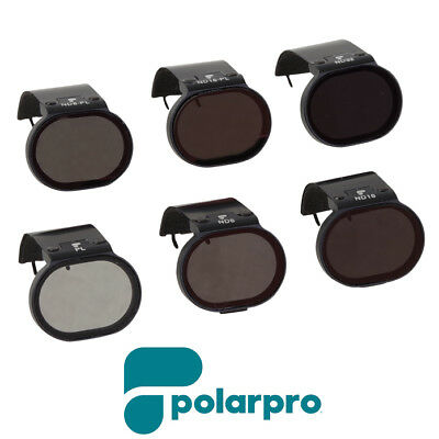 GENUINE Polar Pro DJI Spark Filters 6-Pack Aussie Seller Free AU Delivery