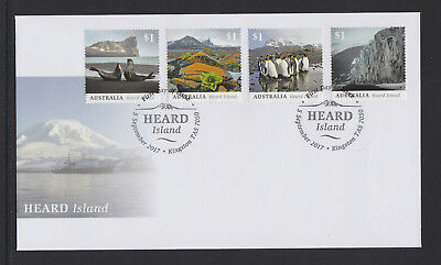 Australia 2017 : Heard Island - First Day Cover. Mint Condition