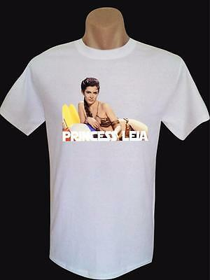 Carrie Fisher 'Princess Leia' Men's Brand New Quality Cotton Tshirt colors/sizes