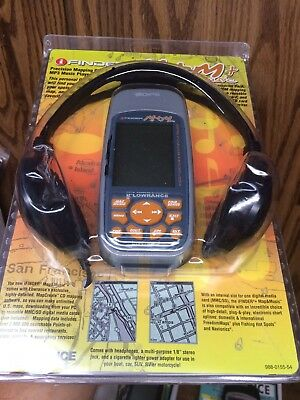 Lowrance iFINDER M&M Handheld GPS Slot For SD Card Hunt H2O Features Map Music